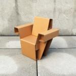 Chairigami - Móveis criativos feitos com papelão