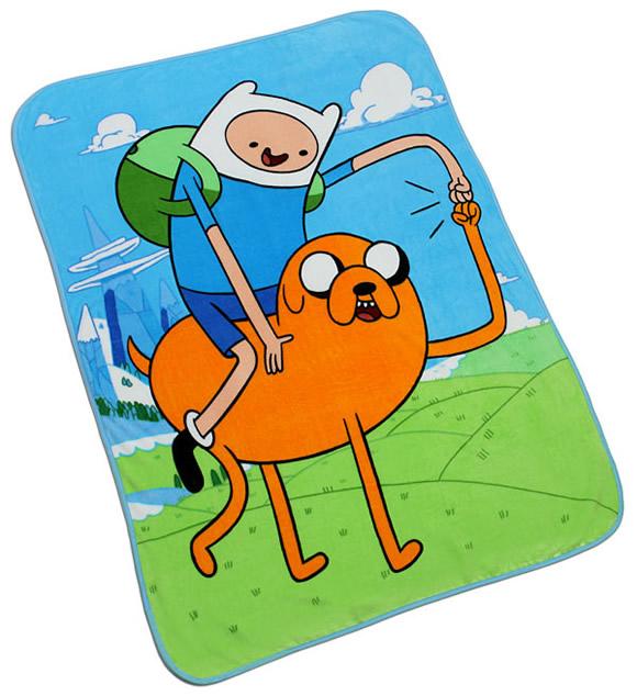 É hora de pegar no sono com o cobertor do Adventure Time!
