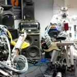 Compressorhead - Uma banda de rock formada por robôs tocando Motörhead: Ace of Spades (vídeo)