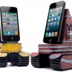 Docas sensacionais para iPhone se parecem com Tanques de guerra