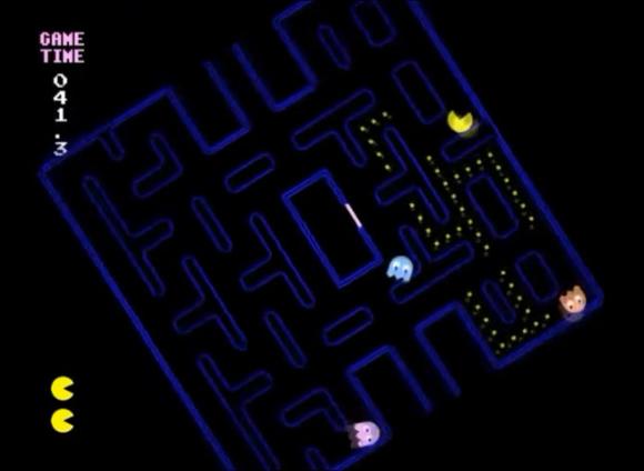 Not Pac-man - Como seria jogar o game Pac-man usando a gravidade? Assista o vídeo!