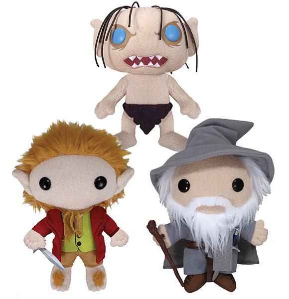Toys legais do dia: Pelúcias do filme O Hobbit