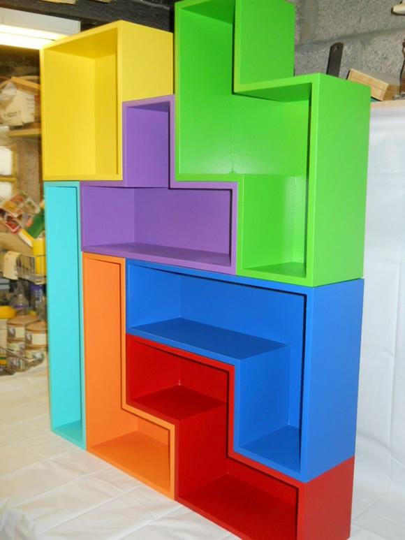 Prateleira Tetris - Empilhe suas partes e monte como quiser!