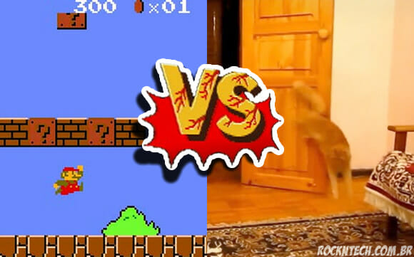 VIDEOFUN - Pulo do Mario vs. Pulo do Gato