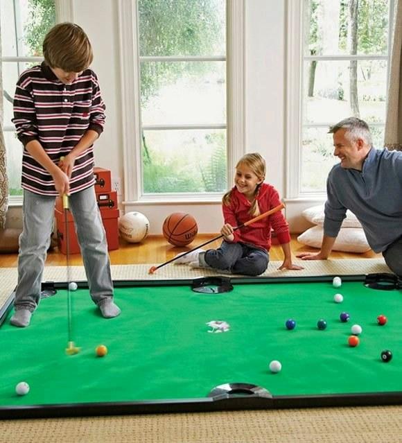 E se misturássemos Bilhar com jogo de Golfe? Acredite, o jogo existe e é muito legal!