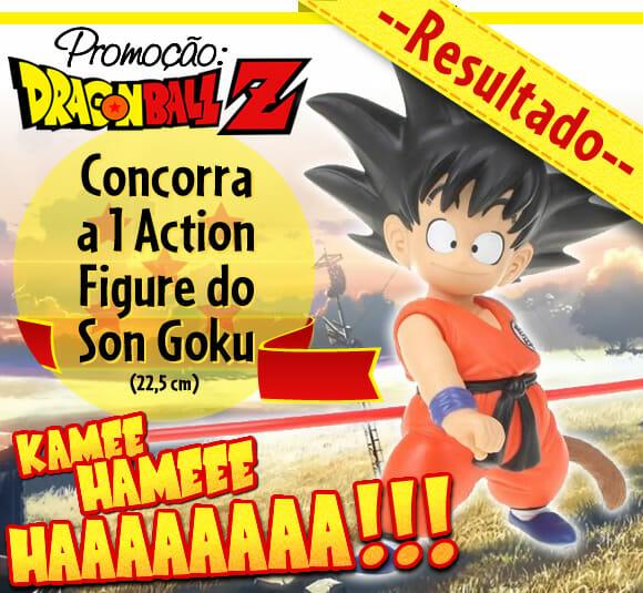 RESULTADO: Promoção 4 anos de ROCK'N TECH – Sorteio Action figure Dragon Ball Z!