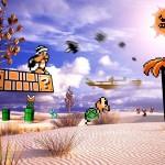 Retro Reality - Imagens misturam fotos reais com cenas de games
