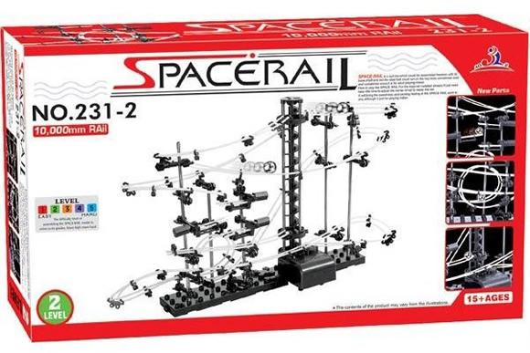 SpaceRail - Uma montanha russa de esferas super legal que pode ser montada como você quiser