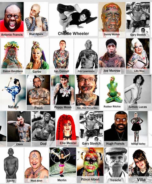 Conheça a agência de modelos de pessoas feias + famosa do mundo! #Bizarro 15/08/2014