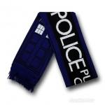 Cachecol Tardis para fãs de Doctor Who