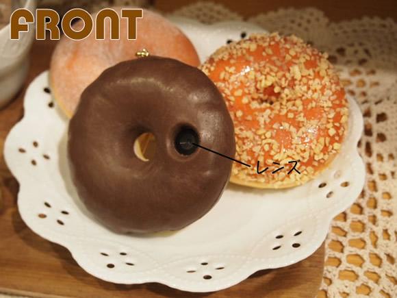 Câmera em formato de Donut faz qualquer um sorrir na hora de tirar a foto