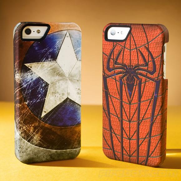 Novas capas para iPhone 5 da Marvel Edição de Colecionador