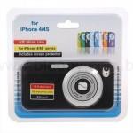 Capa para iPhone em forma de Câmera Digital é ideal para viciados em fotografia e Instagram!