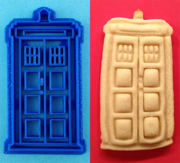 Os Whovians piram: Cortadores para fazer biscoitos de Daleks, Tardis e outros ícones e personagens