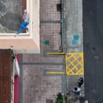 Fotos aéreas de Hong Kong transformam as ruas em fases de videogames