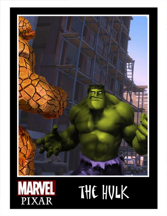 Isso é legal do dia: Heróis da Marvel estilo Pixar