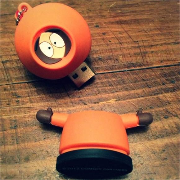 Pen drive do Kenny de South Park - Não, NÃO matem este Kenny!!!