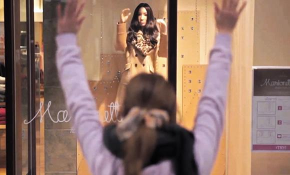 Manequins equipados com Kinect imitam movimentos dos clientes para fazê-los se sentirem no espelho
