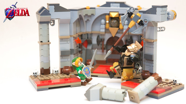 Set de LEGO baseado no game The Legend of Zelda - Shut up and take my Rupees!