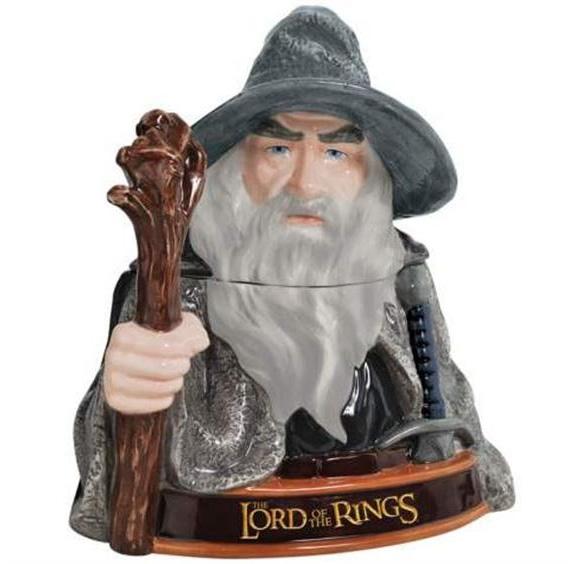 "Cozinha Geek - Potes de biscoitos do Gandalf e Aragorn de ""O Senhor dos Anéis"""
