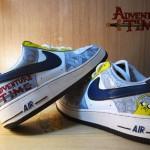 É Hora de Aventura com os sneakers baseados na série Adventure Time!