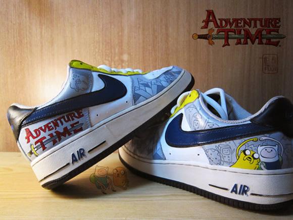 Hora De Aventura   Os Sneakers Baseados Na S  Rie Adventure Time