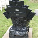 Throne of Nerds - Programador cria um trono feito de teclados baseado no Trono de Ferro de Game Of Thrones