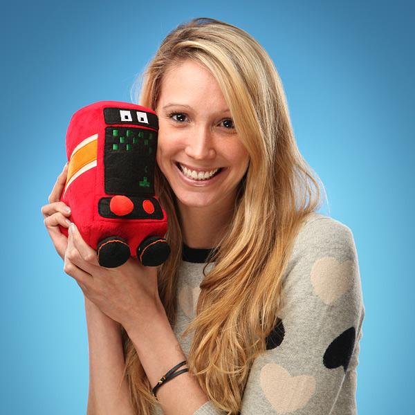 Com vocês: Arcadeans - Máquinas de fliperama de pelúcia que emitem som!