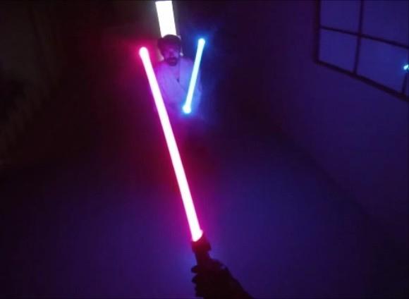Vídeo mostra como seria uma batalha de Sabre de Luz do ponto de vista de Darth Vader