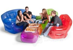 sofá inflável móveis infláveis