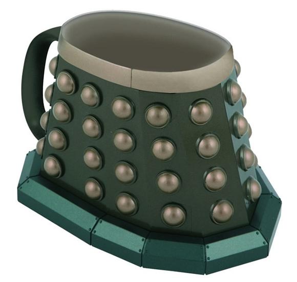 Diretamente de Doctor Who: Caneca Dalek extermina sua sede!