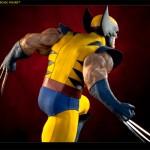 Estátua Wolverine Legendary tem garras de metal e detalhes pra fã nenhum botar defeito