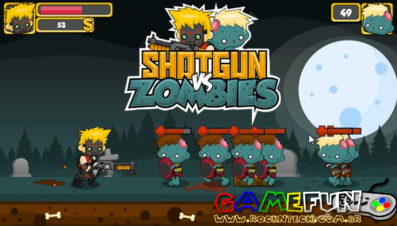 GAMEFUN - Shotgun vs. Zombies