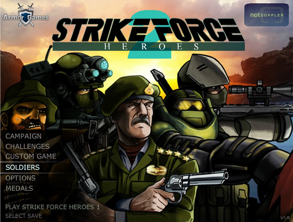 GAMEFUN - Strike Force Heroes 2