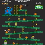 Ilustrações misturam Donkey Kong com outros jogos, filmes e referências da cultura pop