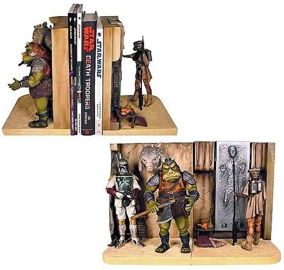 Porta livros inspirado no Palácio do Jabba vem também com Han Solo preso em carbonite