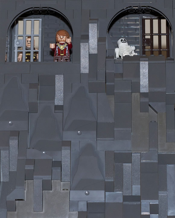 Lego Game of Thrones - Cenas de Game Of Thrones recriadas com Lego