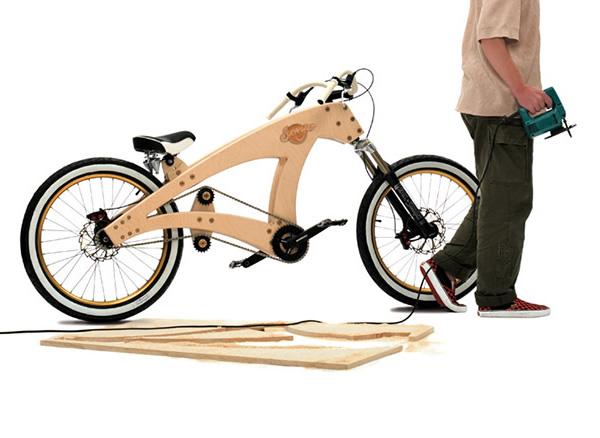 Lowrider Saw - Uma bicicleta criativa que vem em um kit que nós mesmos podemos montar