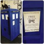 Loja americana vende refrigerantes diretamente da Tardis da série Doctor Who