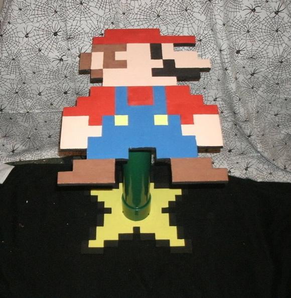 Mesa Super Mario 8-Bits pra decorar a casa dos geeks