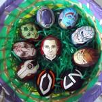 Isso é legal do dia: Ovos decorados com temas geeks
