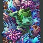 Pokémon Tattoo - Ilustrações de Pokémons como se fossem tatuagens