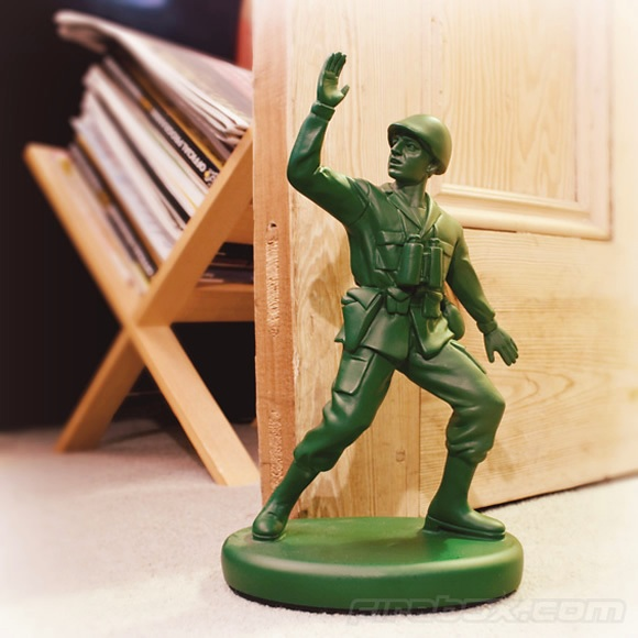 soldier doorstop