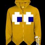 Pac-Blusas: Moletons bacanas do Pac-Man e seus fantasmas!