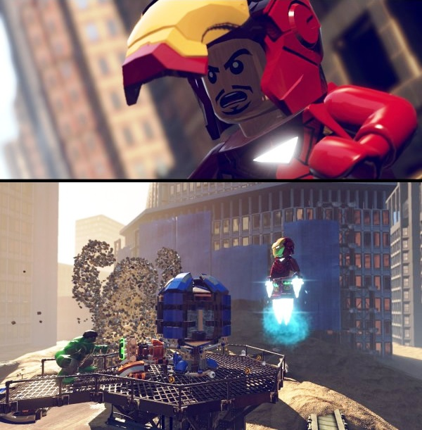 Gameplay do game 'lego marvel super heroes' deixa qualquer fã de