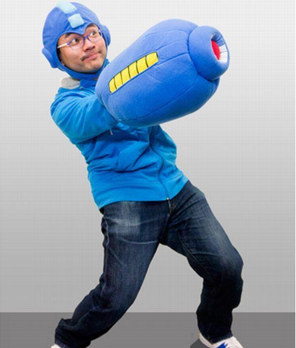 Kit travesseiro Mega Blaster + touca do Mega Man oficiais da Capcom já estão à venda!