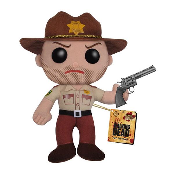 Coleção Pop! de pelúcias baseadas na série The Walking Dead. Você vai querer todas!