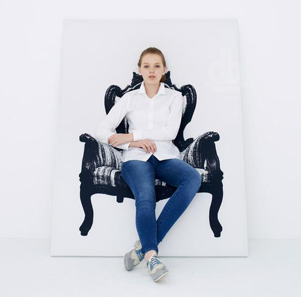 Isso é incrível do dia: Quadros de poltronas e cadeiras que realmente funcionam como poltronas e cadeiras