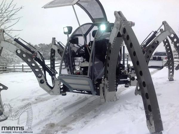 Transporte do Futuro: Empresa constrói aranha robótica gigante que pode ser pilotada por humanos