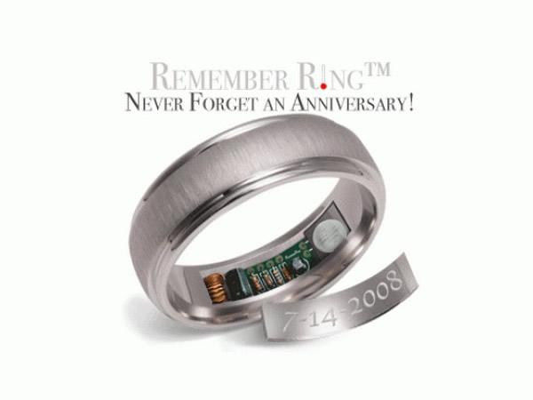 Esquecer aniversário de namoro nunca mais! Anel te lembra de aniversários e outras datas especiais
